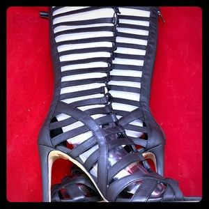 Gladiator Caged Boots